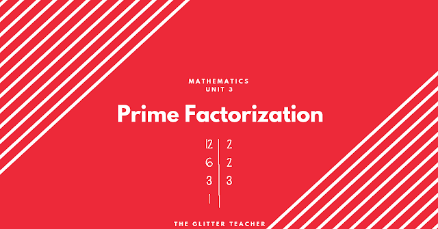 Prime Factorization. Maths year 6