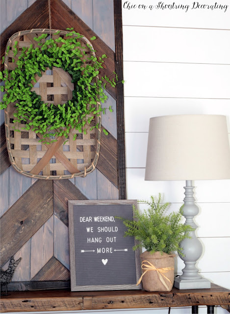 Chic on a Shoestring Decorating Blog