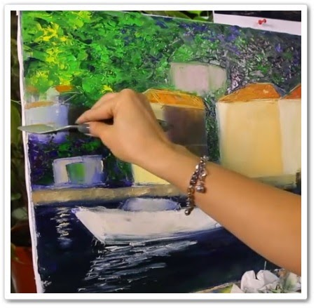Уроки рисования - масляная живопись