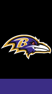 Wallpaper Baltimore Ravens black para celular gratis