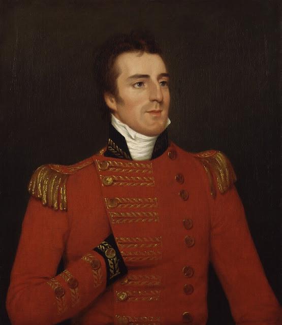 Arthur-Wellesley-1st-Duke-of-Wellington-oil on canvas-by-Robert Home