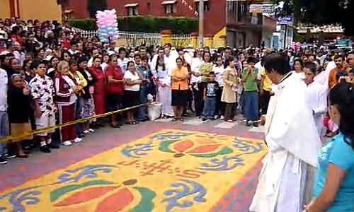 Fiesta del Cristo Rey en Alto Lucero