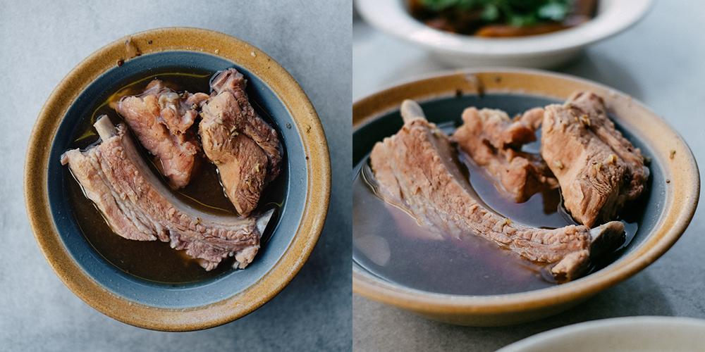 ... soup one of each soup bak kut teh spare rib soup bak kut teh spare rib