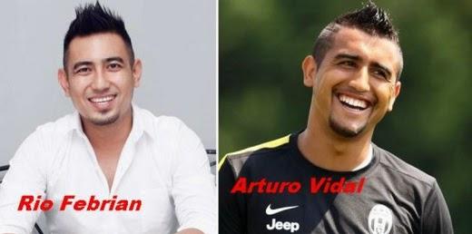 8 Artis Indonesia Yang Mirip Dengan Pemain Bola Top Dunia