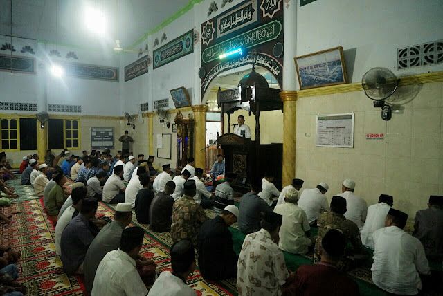 Safari Ramadhan di Awangpone Bersama Ketua Tim Penggerak PKK Bone, Ini Pesan Pj Bupati Bone