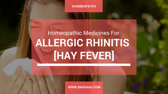 Homeopathic Medicines For Allergic Rhinitis