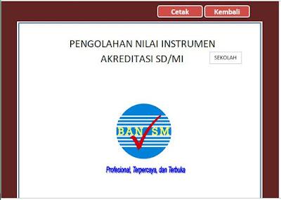 Pengolahan Nilai Instrumen Akreditasi SD/MI, http://www.librarypendidikan.com/