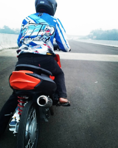 modifikasi yamaha mio drag bike