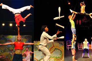 Phare spectacle de cirque à Siem Reap
