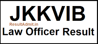 JKKVIB Law Officer Result 2017
