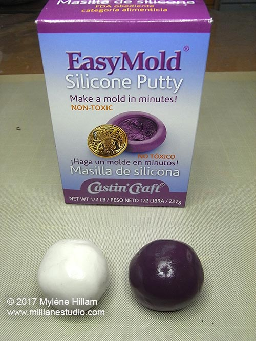 EasyMold Silicone Putty is ideal for food moulds because it's food grade and FDA compliant.