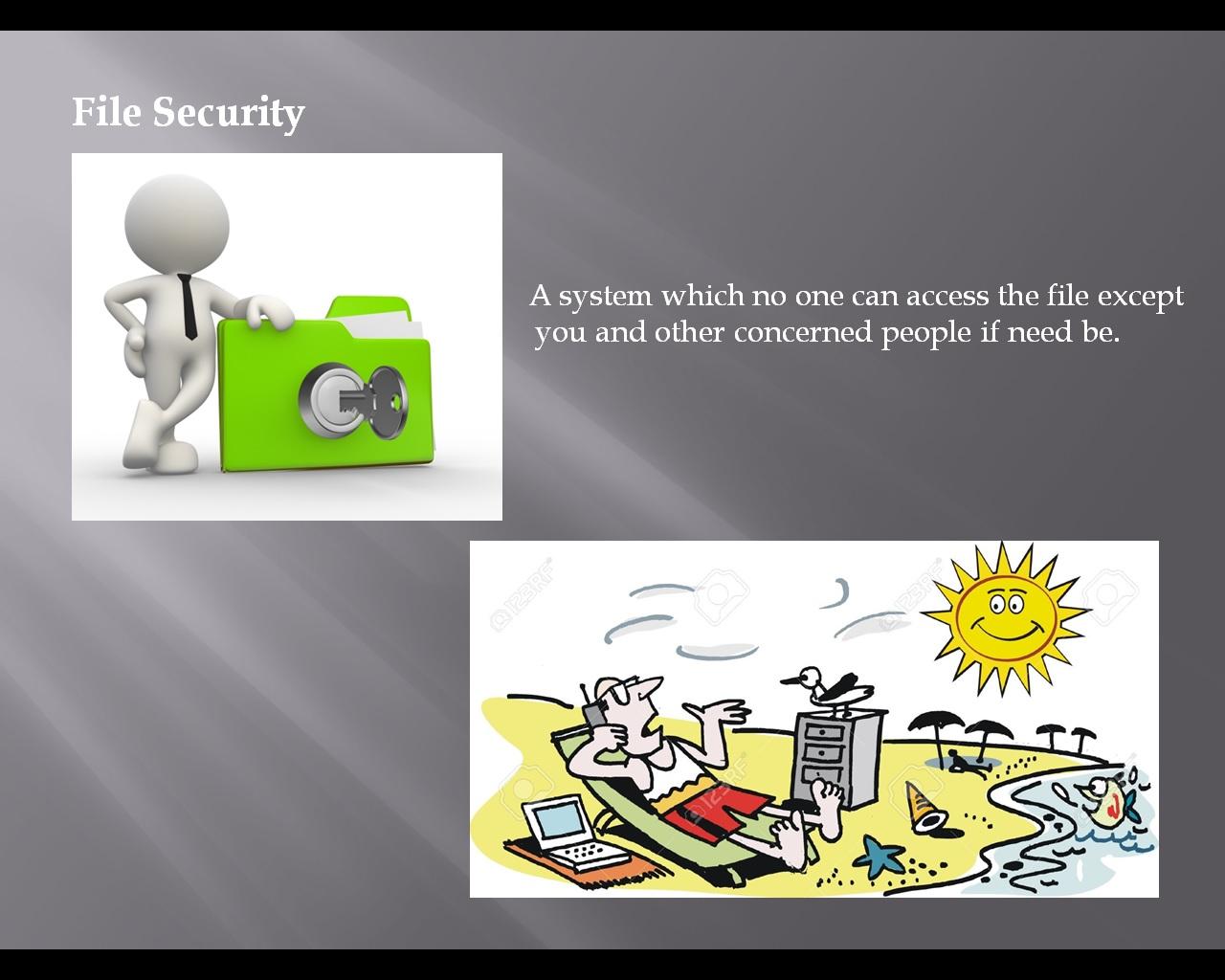 Secretarial Secretarial Filing Security Filing System