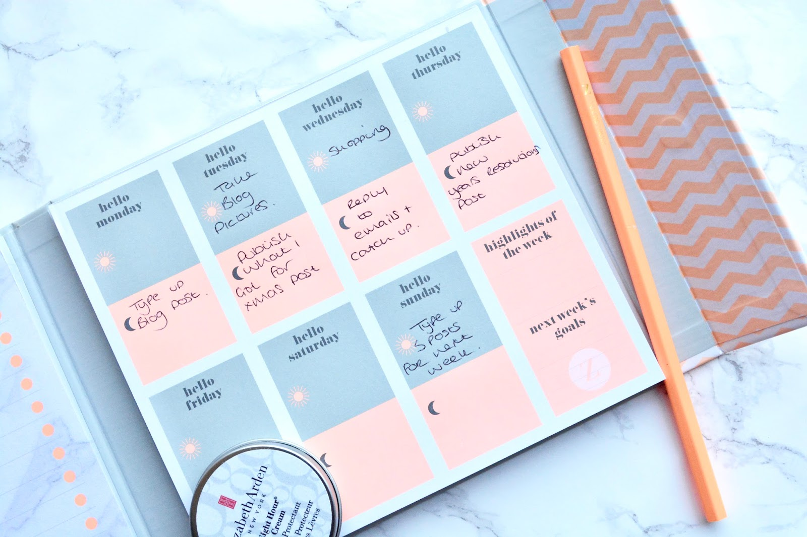 Zoella Lifestyle Planner