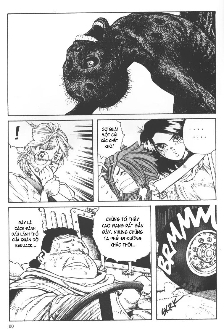 Battle Angel Alita chapter 38 trang 7