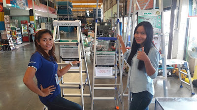 Buriram Thailand Heavy Duty Aluminum work Platforms Ladders