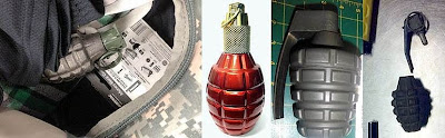 Grenades Discovered at (L-R) SEA, ATL, LAS, SJC