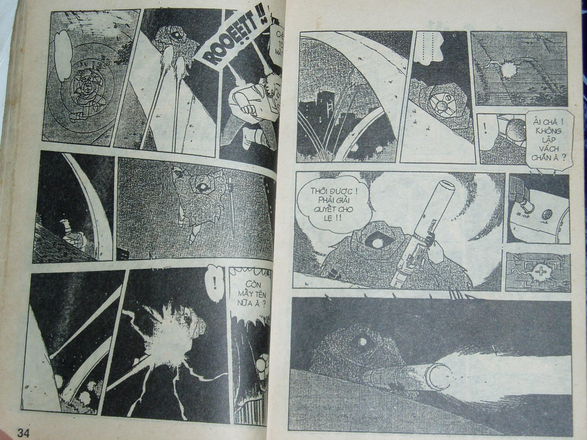 Siêu nhân Locke vol 16 trang 16