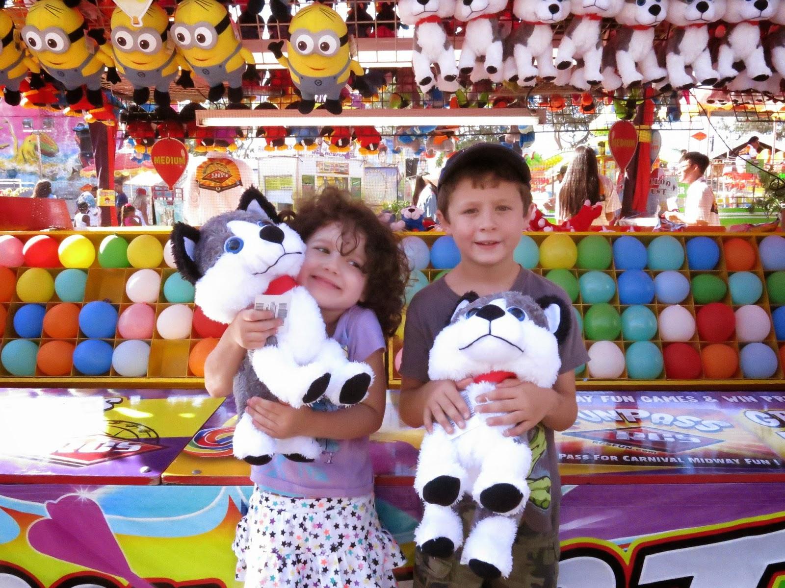 OC Fair, Costa Mesa, kids, carnival, games