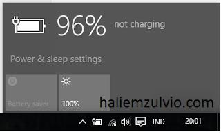Cara Agar Baterai Laptop Menjadi Plugin Not Charging