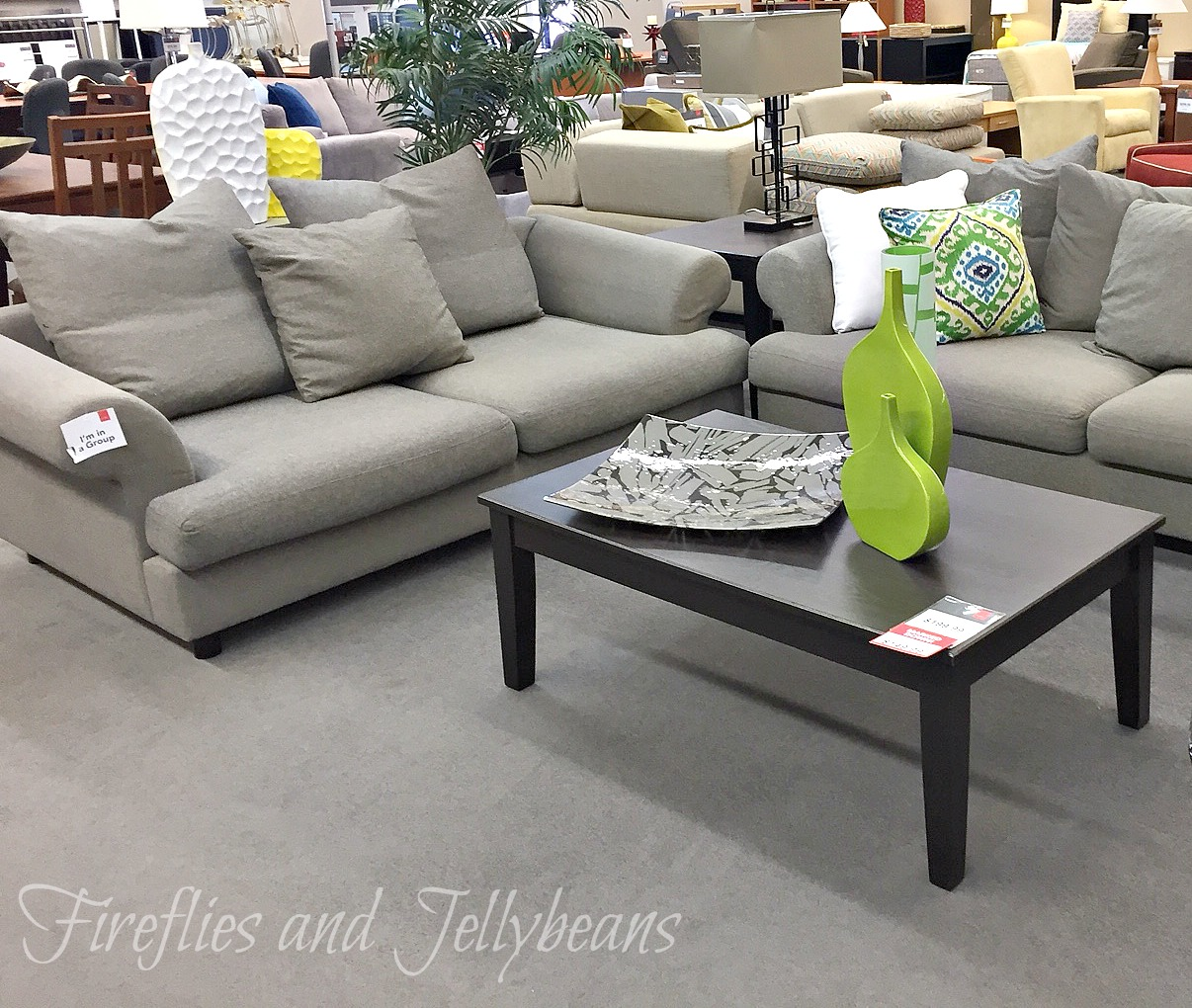 Fireflies and Jellybeans  Affordable Furniture  CORT Clearance Center Even though it is a clearance center they do not have furniture from last  season  Everything is very in style and up to date  I saw several piece  that I