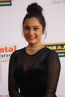 Vennela in Transparent Black Skin Tight Backless Stunning Dress at Mirchi Music Awards South 2017 ~  Exclusive Celebrities Galleries 049.JPG