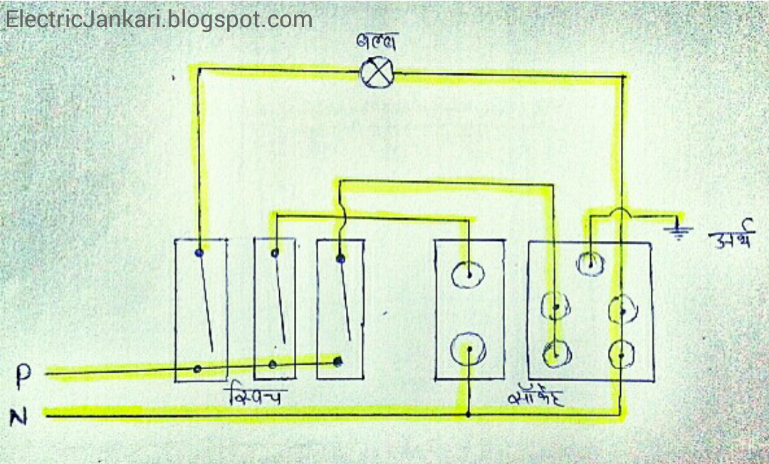 Electrical Switch Board Connection Kaise Kare With Diagram