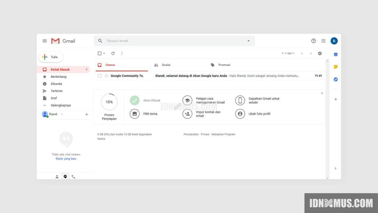 Cara Terbaru Membuat Akun Gmail