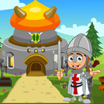 G4K Cute Little Knight Boy Rescue Game