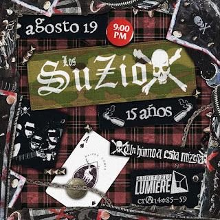 Concierto de LOS SUZIOX en Bogotá