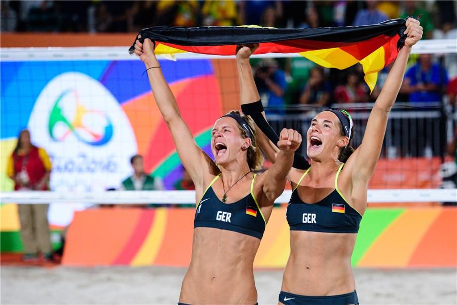 Beach Volleyball Rio 2016 Laura Ludwig And Kira Walkenhorst The New Gold Girls