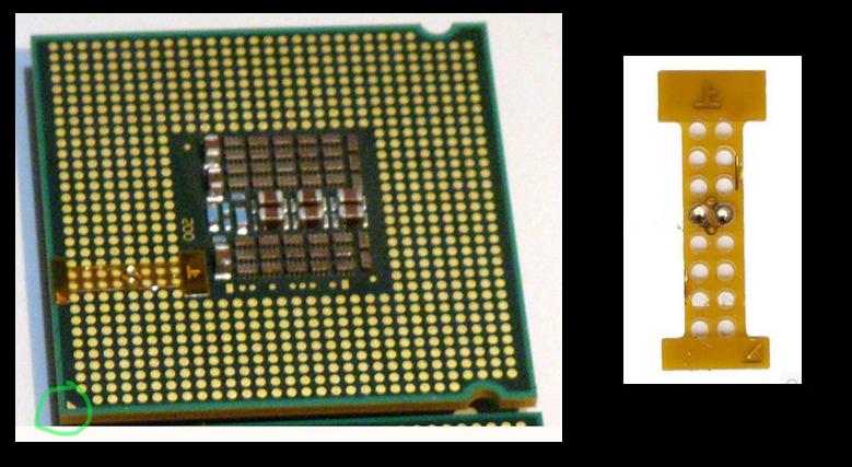 SpectroPC: MOD: Processador LGA 771 em Placa Mãe LGA 775