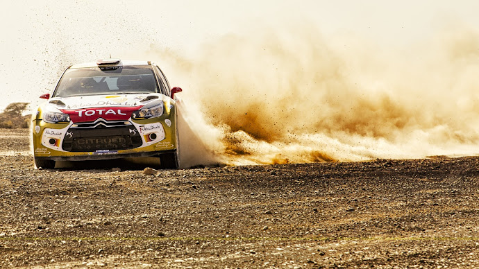 Wallpaper: Citroen DS3 Abu Dhabi Racing