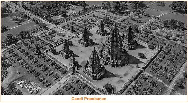 peninggalan sejarah beberapa bangunan yang bercorak agama Hindu