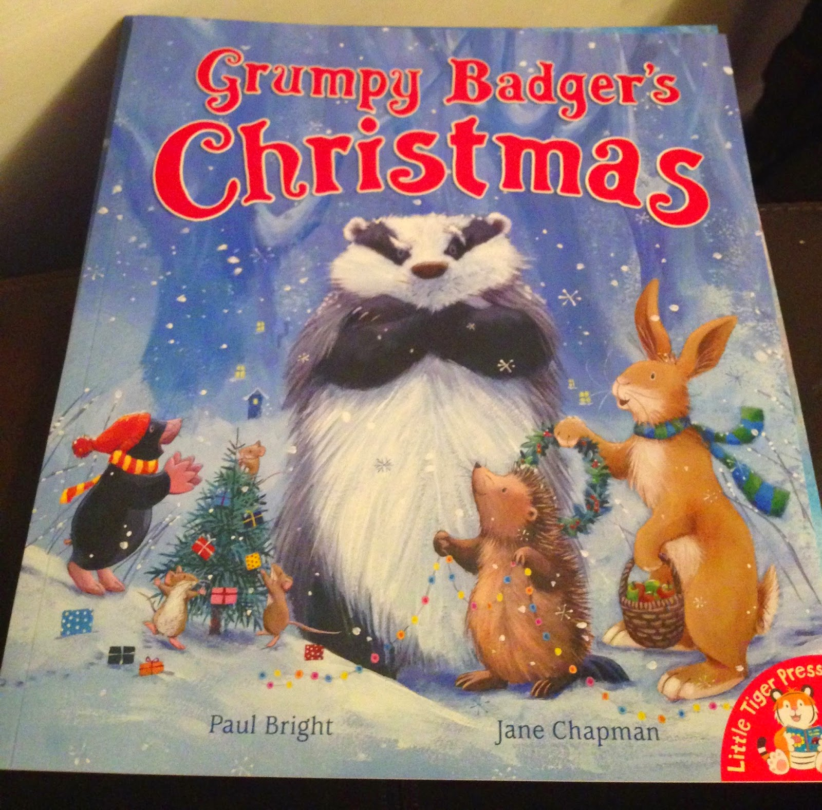 Our Christmas Book Advent tree | Ideas for the Best Children's Books to Buy this Christmas - Grumpy Badger's Christmas