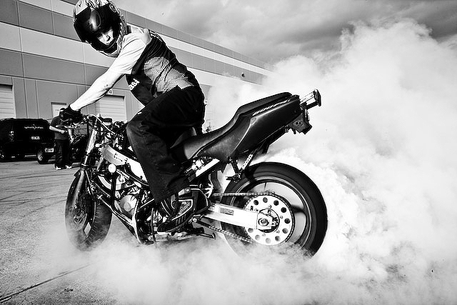 all about ducati: bike stunts