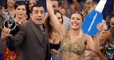 Kaysar vence o 'Dança dos Famosos 2019' — Foto: Globo