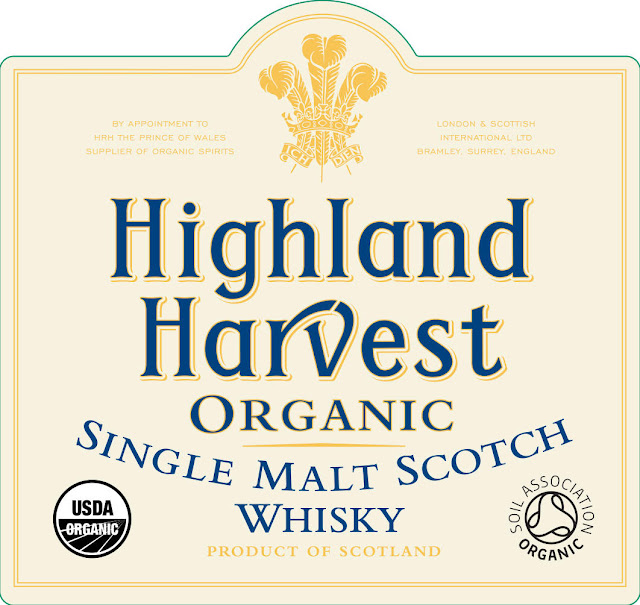 Highland Harvest Organic Singles Malt Scotch Whiskey Triple Cask