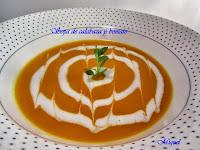 Sopa de calabaza y boniatos
