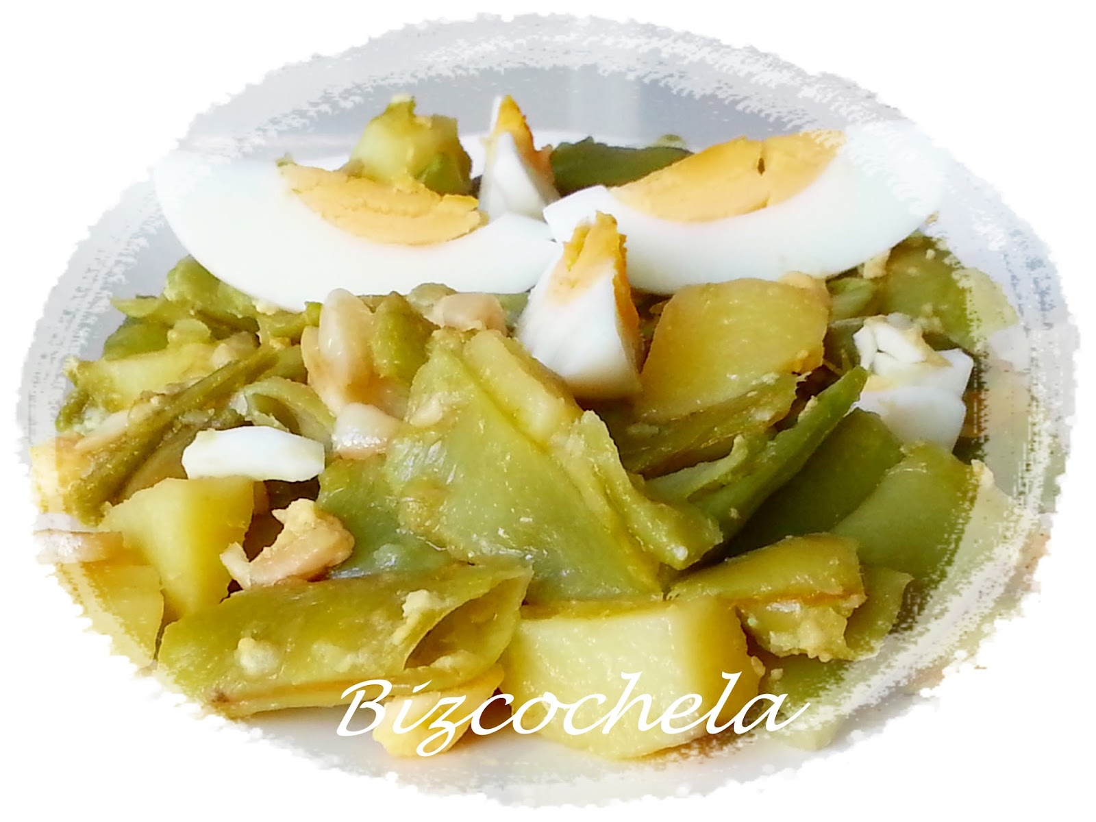 Judias verdes con patatas for Cocinar judias verdes
