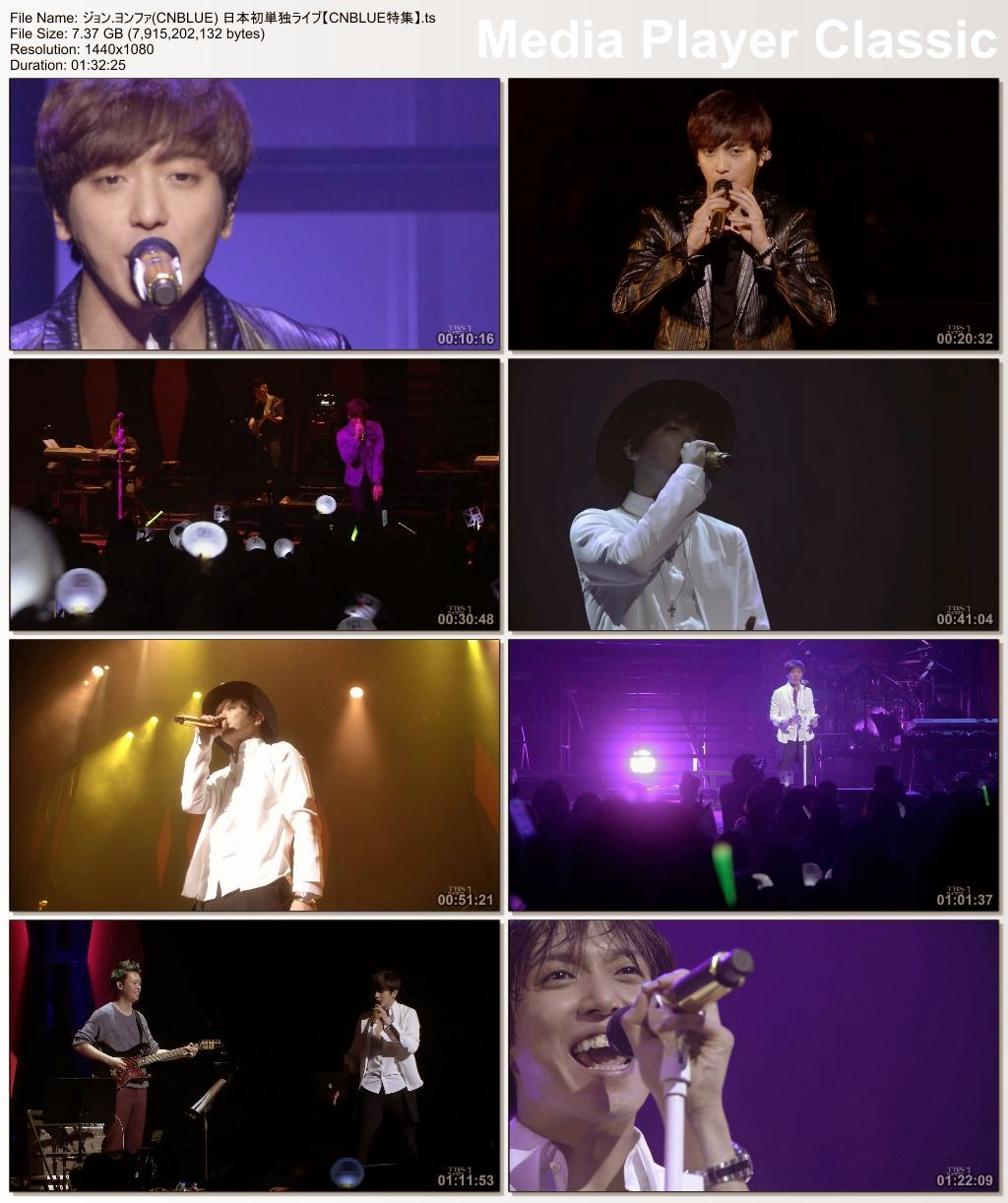 """[Show] 150426 JUNG YONG HWA LIVE in JAPAN """"One Fine Day"""""""