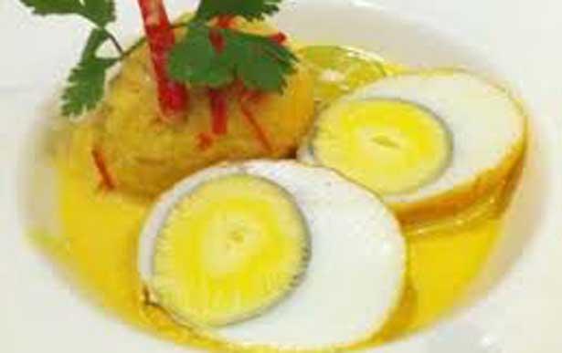 Resep Masakan Telur Bumbu Kuning