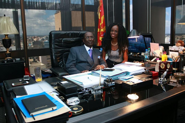 Meet Chris Kirubi, one of Kenya's wealthiest businessmen.