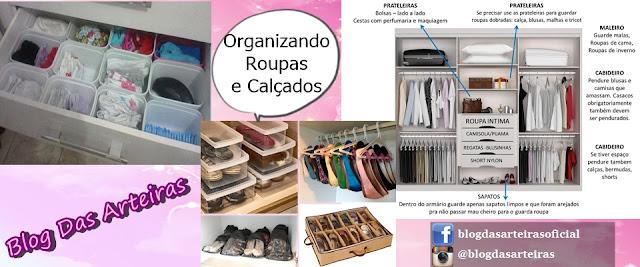 Organizando Roupas, Calçados e Bijuterias