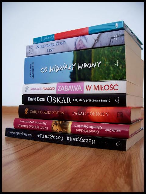 Stosikowy raj... - czyli jakie książki się u mnie ostatnio znalazły