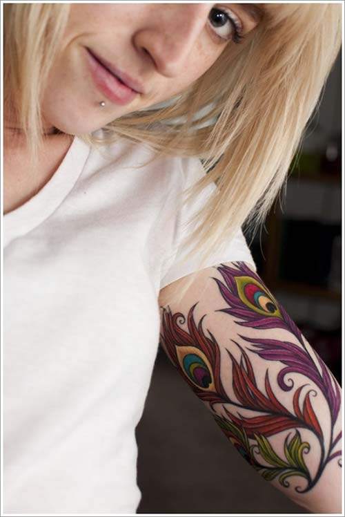 kadın üst kol dövme modelleri woman upper arm tattoo designs 3