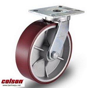 Bánh xe đẩy PU công nghiệp chịu tải cao 1,035kg  7-10679-959