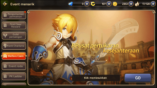 How to Claim Code Reward CBT Version On OBT, ( Cara Tukar Kode Hadiah Dragon nest M)