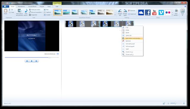 تحميل برنامج موفى ميكر لويندوز 7 كامل مجانا Windows Movie Maker 2012