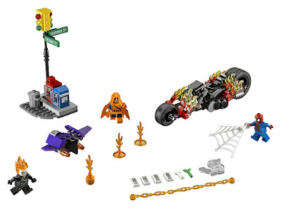LEGO Super Heroes 76058 Sipder-Man Alianza con el Motorista Fantasma Marvel 2016 | TOYS - JUGUETES Piezas: 217 | Edad: 7-14 años Comprar en Amazon España & buy Amazon USA