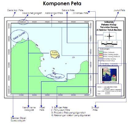 Komponen Komponen Peta Geomedia